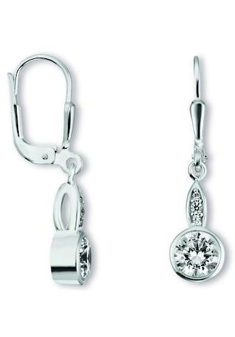 ONE ELEMENT Paar Ohrhänger »Ohrringe / Ohrhänger aus 925 Silber Zirkonia« kaufen