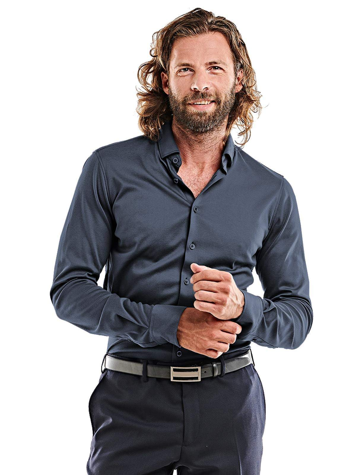 emilio adani Hemd ´´My Favorite´´ | Bekleidung > Hemden > Sonstige Hemden | Blau | Baumwolle | EMILIO ADANI