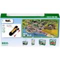 BRIO® Spielzeug-Zug »Goldene Batterielok«, mit Licht und Sound; FSC® - schützt Wald - weltweit