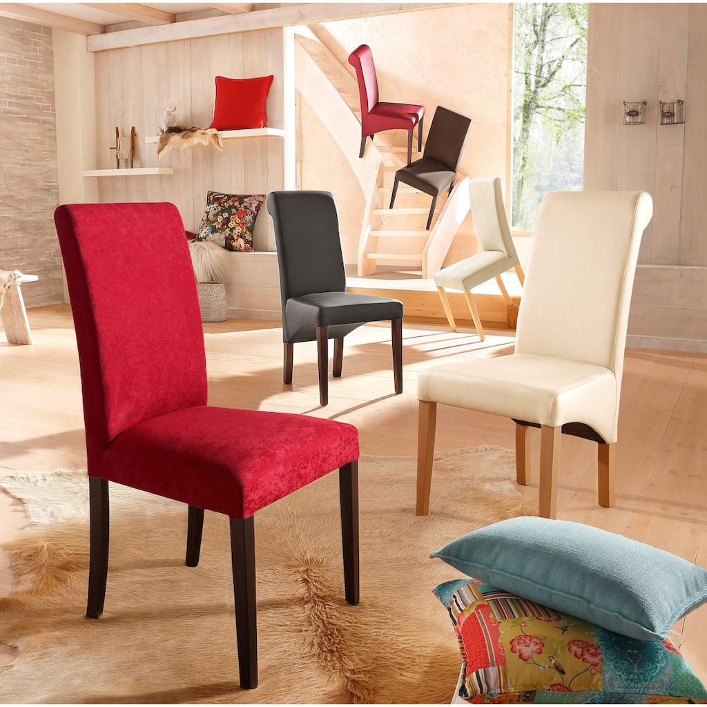 Home affaire 4-Fußstuhl »Roko«, im 2er, 4er oder 6er-Set