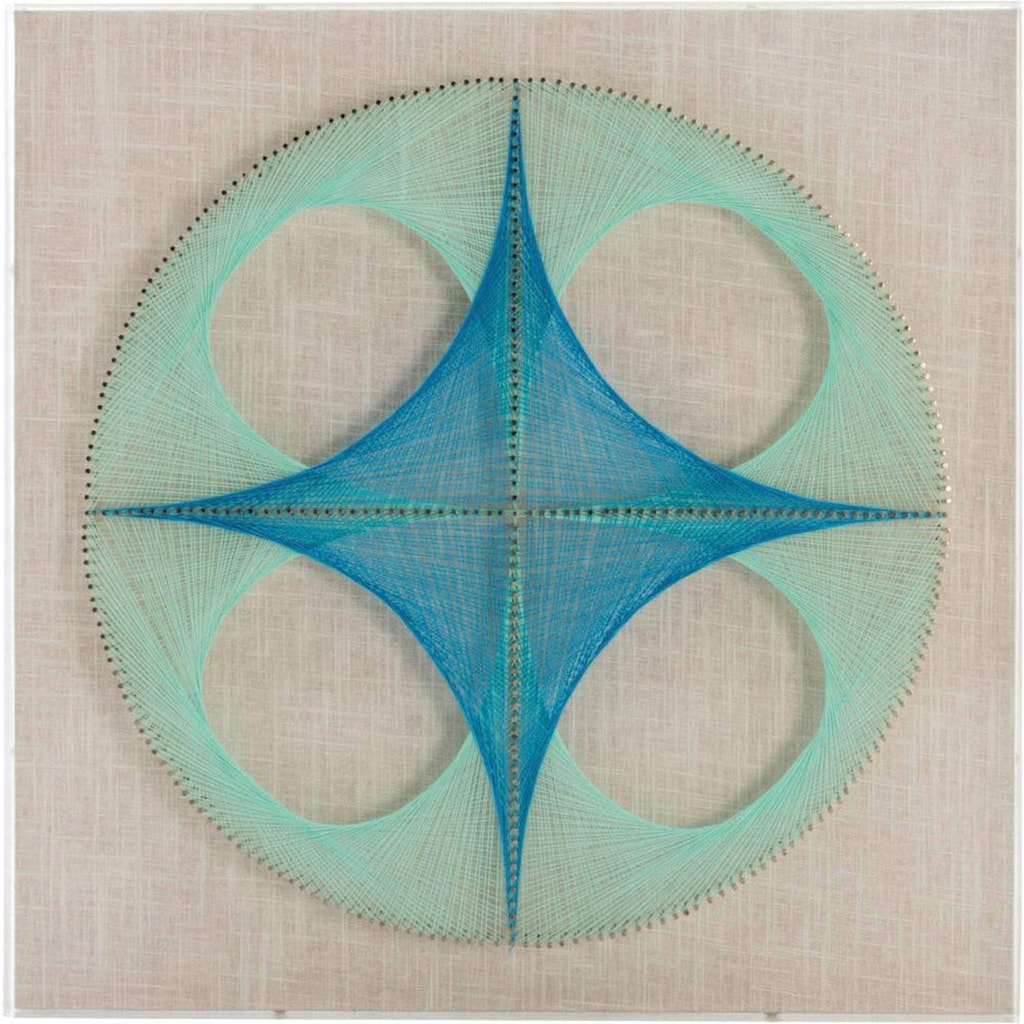 Kayoom Wandbild »Happiness«, 45cm x 45cm