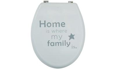 MSV WC - Sitz »HOME«, MDF - Kern kaufen