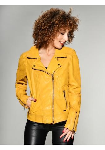 Maze Lederjacke in auffälliger Farbe kaufen