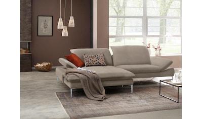 W.SCHILLIG Ecksofa »enjoy&MORE«, mit Sitztiefenverstellung, Füße silber matt, Breite... kaufen