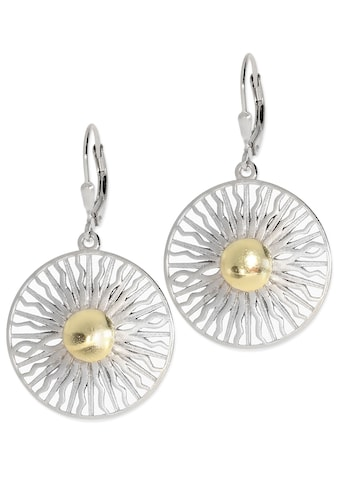 Adelia´s Paar Ohrhänger »Ohrringe Sonne 925 Silber silber«, Sonne silber kaufen
