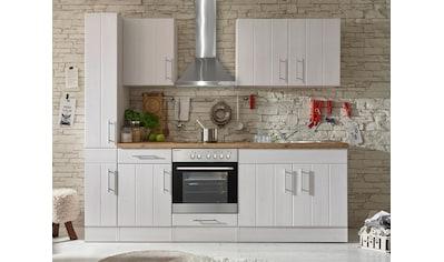 RESPEKTA Küchenzeile »Ulm«, mit E-Geräten, Breite 240 cm kaufen