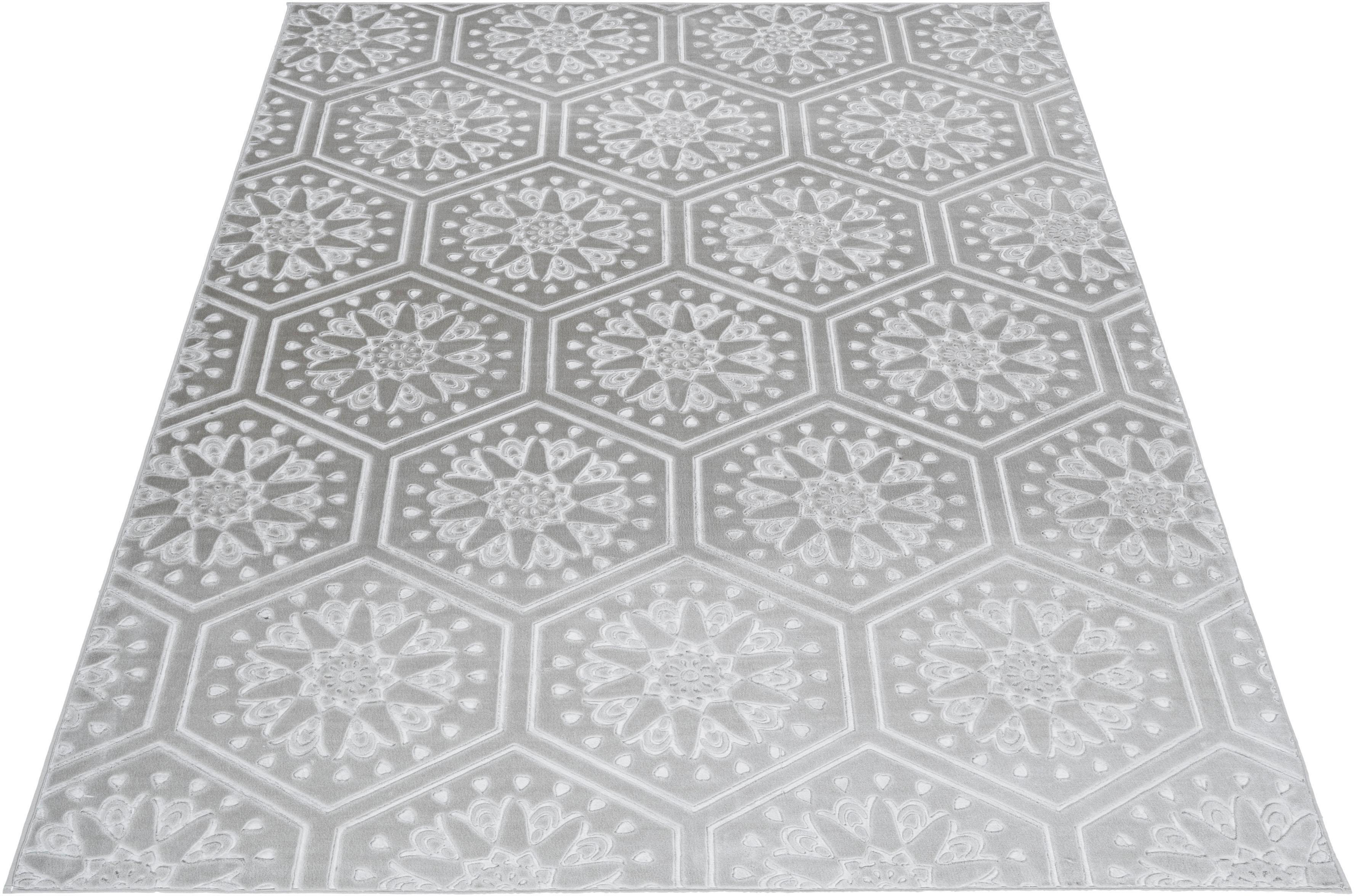 Teppich Stina my home rechteckig Höhe 7 mm Naturprodukt