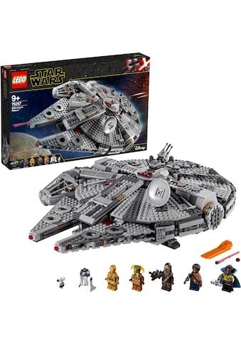 LEGO® Konstruktionsspielsteine »Millennium Falcon™ (75257), LEGO® Star Wars™«, (1351 St.), Made in Europe kaufen