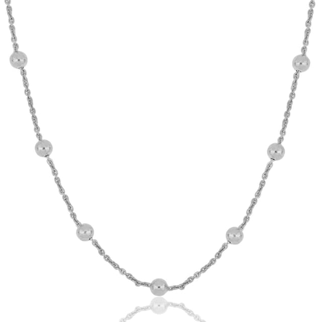 JULES & GENTS Silberkette »#borabora Silber«