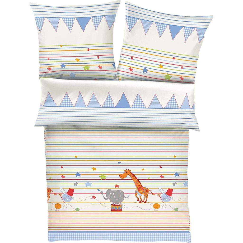 s.Oliver Kinderbettwäsche »Jumbo«, auf in den Zirkus