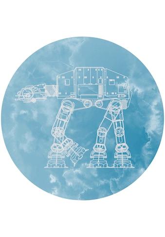 Komar Fototapete »Star Wars AT-AT«, bedruckt-Comic-Retro-mehrfarbig, BxH: 128x128 cm,... kaufen