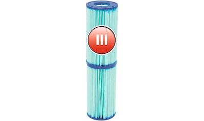 BESTWAY Pool - Filterkartusche »Flowclear™«, Gr.III, 10,6 x 20,3 cm kaufen