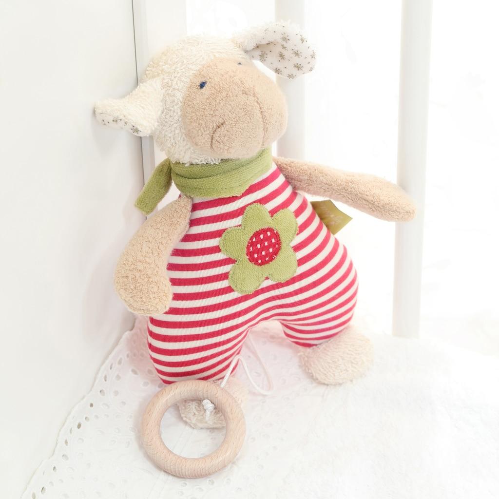 Sigikid Spieluhr »Green Collection, Schaf, rot«, Made in Europe