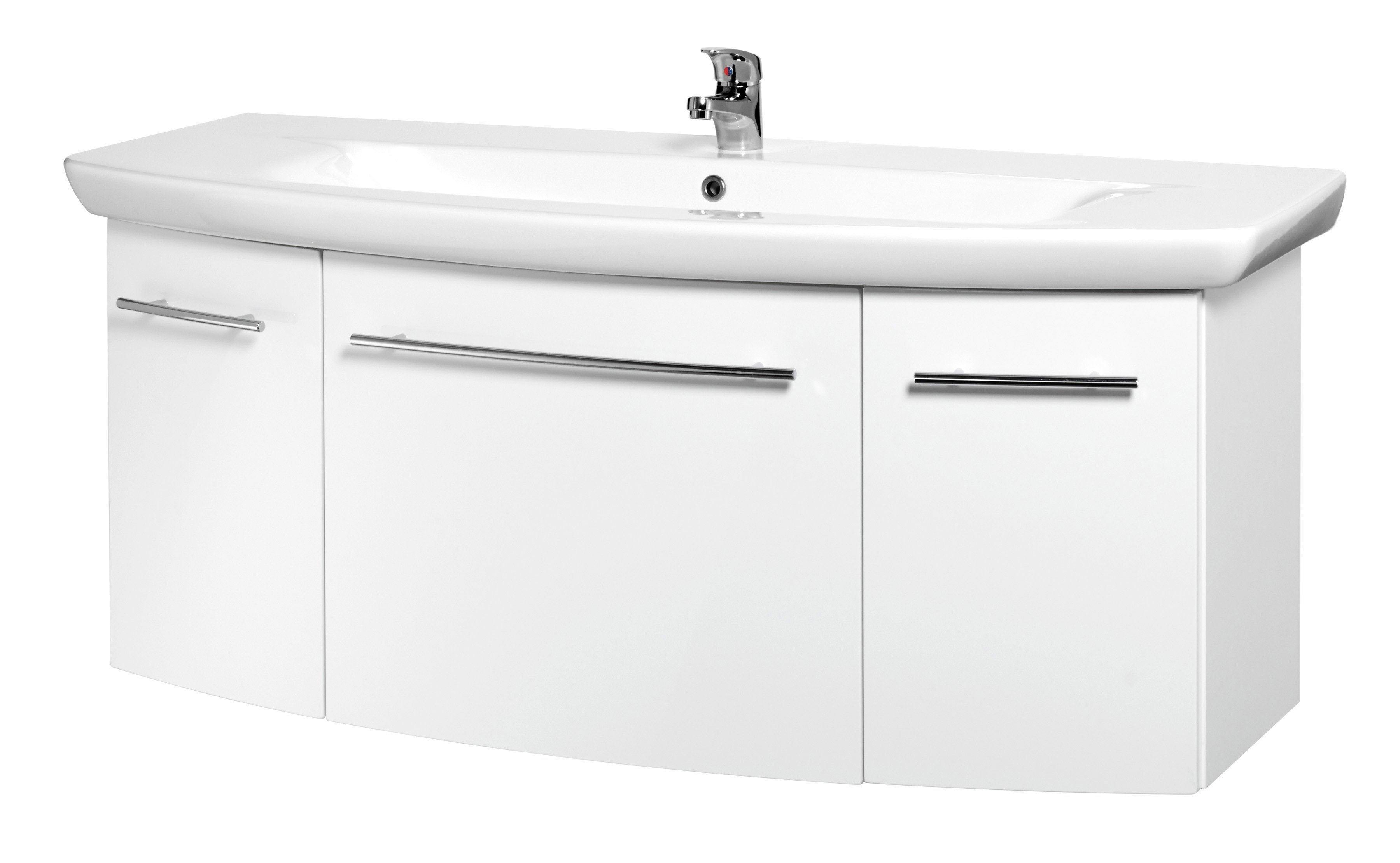MARLIN Waschtisch 3043, Breite 130,8 cm