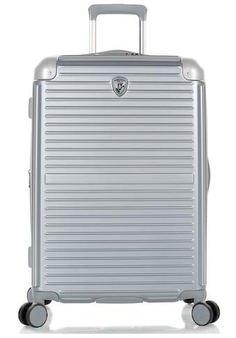 Heys Hartschalen-Trolley »Cruze, 66 cm, Silber«, 4 Rollen, mit Volumenerweiterung kaufen