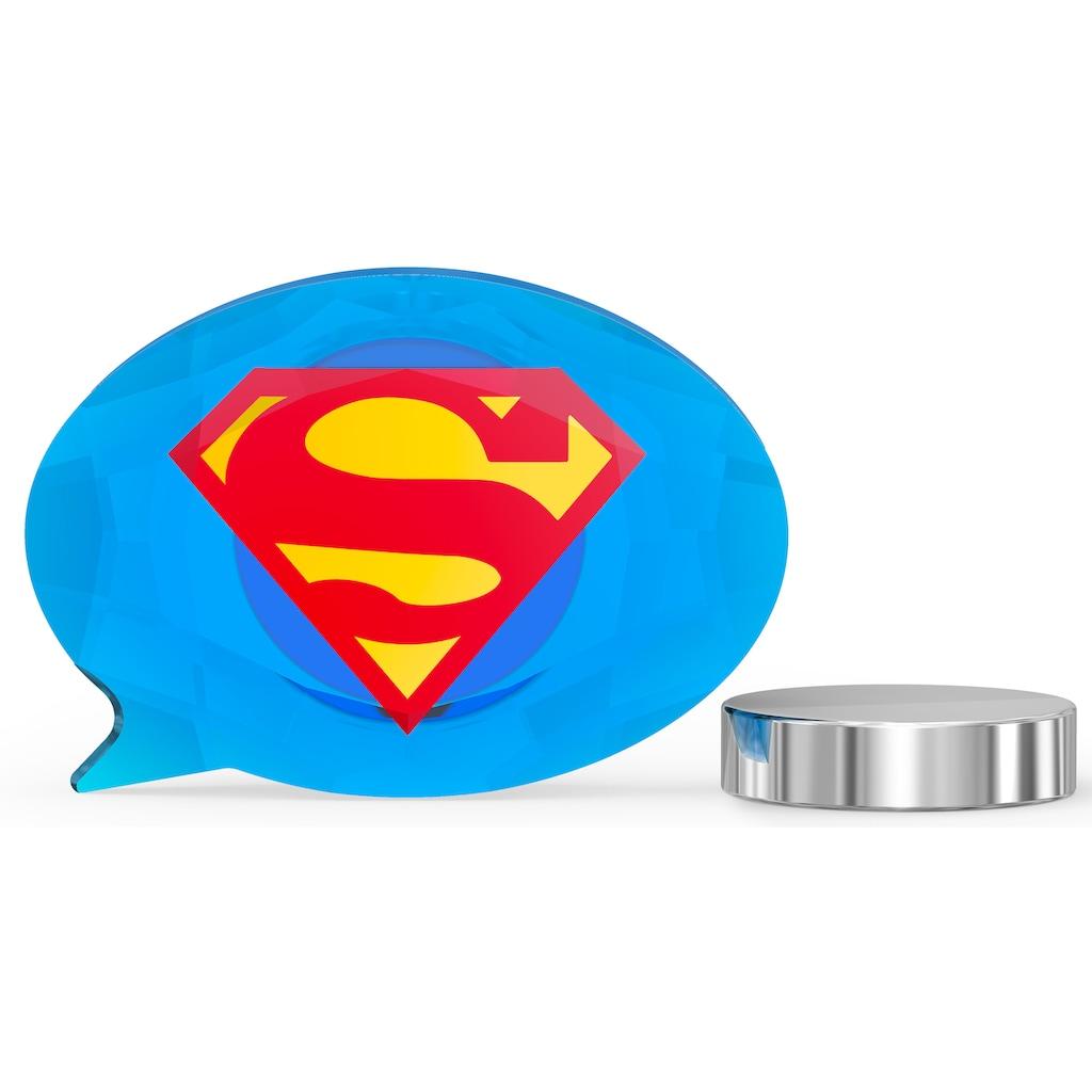 Swarovski Comicfigur »DC Comics Superman Logo Magnet, 5557488«, Swarovski® Kristall