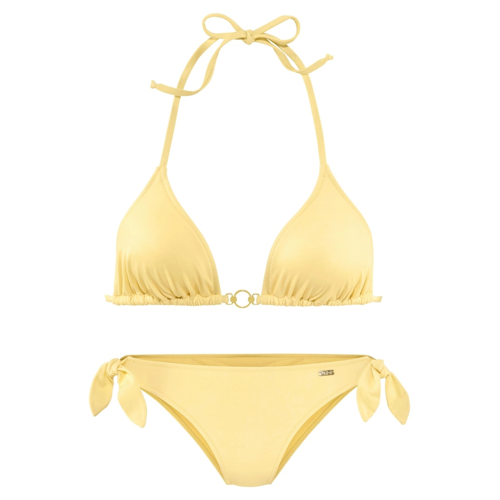 Buffalo Triangel-Bikini, mit Zierring am Top