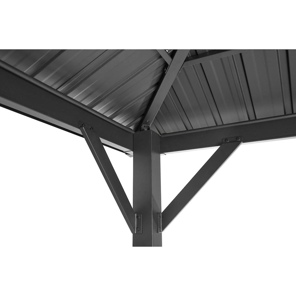 KONIFERA Pavillon »Samos«, BxT: 300x400 cm, ohne Seitenteile