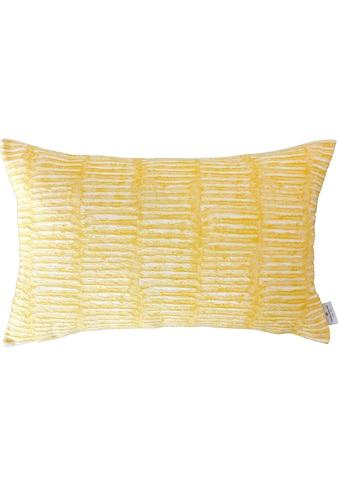 TOM TAILOR Kissenhülle »Dashed Weaving« kaufen