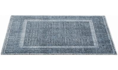 Barbara Becker Fußmatte »Square BB«, rechteckig, 10 mm Höhe, Schmutzfangmatte, In- und... kaufen