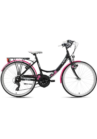 KS Cycling Jugendfahrrad »Dandelion«, 21 Gang, Shimano, Tourney Schaltwerk, Kettenschaltung kaufen