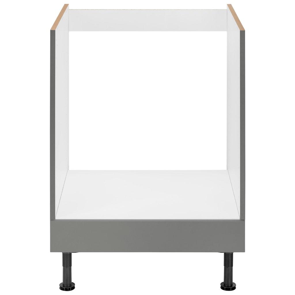 OPTIFIT Herdumbauschrank »Elga«, mit höhenverstellbaren Füßen, Breite 60 cm