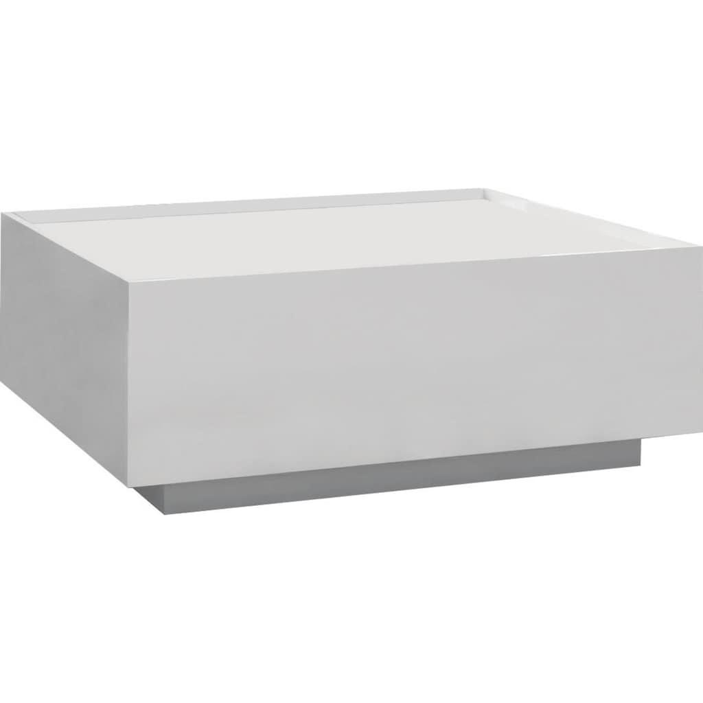 Places of Style Couchtisch »Piano«, hochwertig UV lackiert, mit zwei Schubladen inkl. Soft-Close Funktion