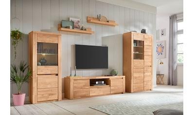 Premium collection by Home affaire Wohnwand »Burani«, (Set, 4 tlg.), teilmassives Holz kaufen