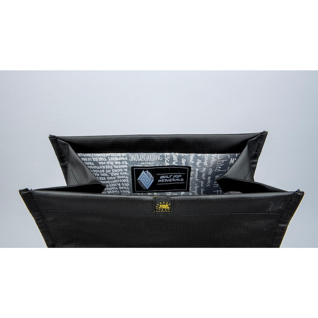 NITRO Freizeitrucksack »Scrambler, Tough Black«, mit Laptopfach