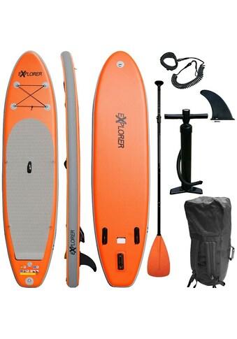EXPLORER Inflatable SUP-Board »EXPLORER 320«, (mit Paddel, Pumpe und Transportrucksack) kaufen