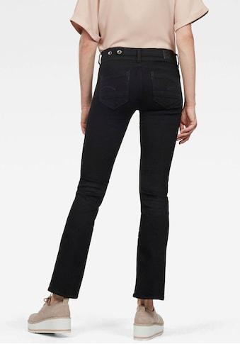 G-Star RAW Bootcut-Jeans »Midge Mid Bootcut«, mit Stretch kaufen