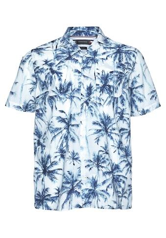 Tommy Hilfiger Big & Tall Kurzarmhemd »BT-WATER COLOR PALM SHIRT« kaufen