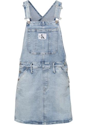 Calvin Klein Jeans Latzkleid »DUNGAREE DRESS«, im typischen Marken-Design von Calvin... kaufen