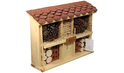 LUXUS-INSEKTENHOTEL Insektenhotel »Landhaus Komfort - Bausatz«, BxTxH: 47x12,5x34 cm kaufen
