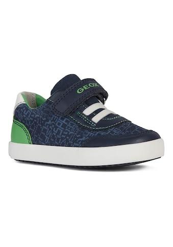 Geox Kids Sneaker »GISLI BOY«, mit herausnehmbarer Innensohle kaufen
