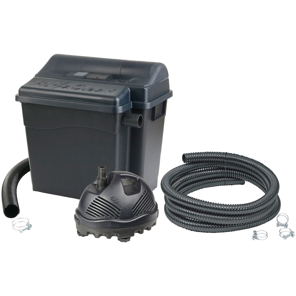 Ubbink Teichfilter »FiltraClear 2500 PlusSet«, mit UVC-Klärer, für Teiche bis: 2.500 l/h