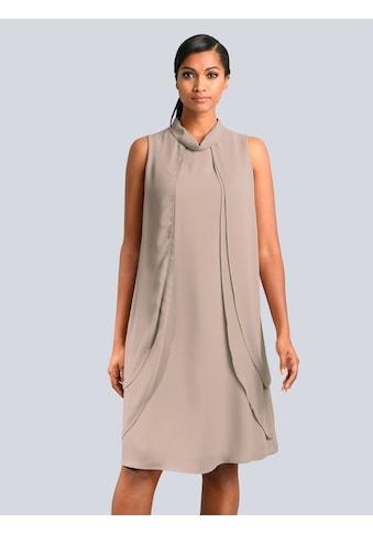 Alba Moda Kleid in fliessenden Chiffonlagen kaufen