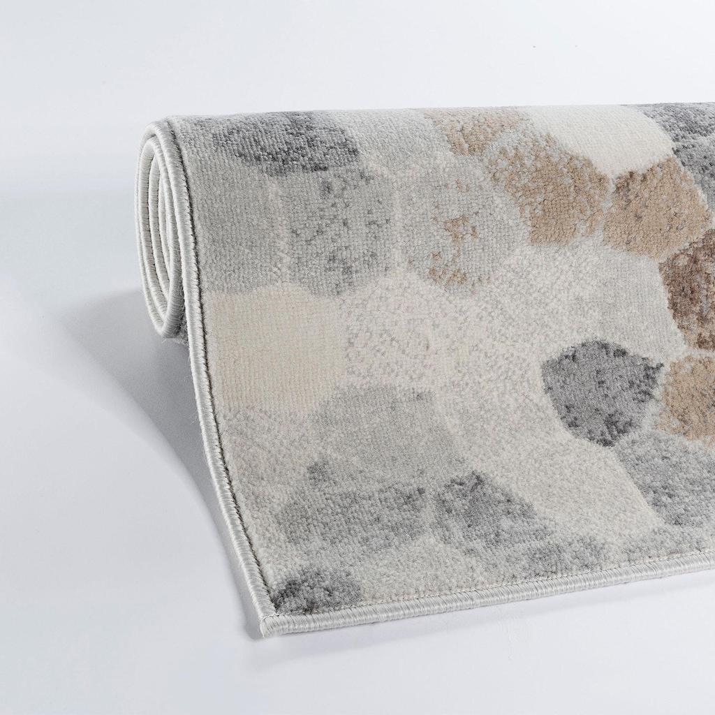 Sehrazat Teppich »Montana 3712«, rechteckig, 8 mm Höhe, Kurzflor, Wohnzimmer
