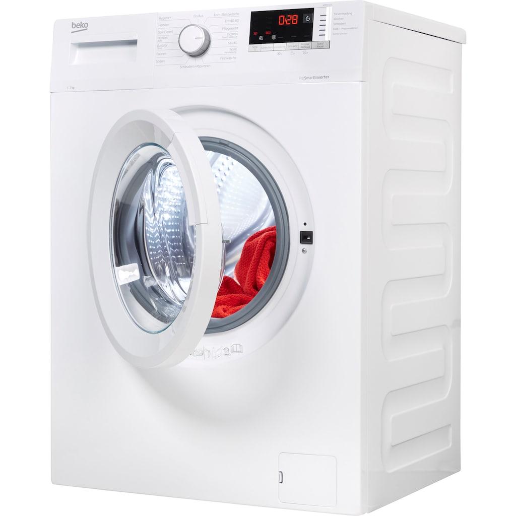 BEKO Waschmaschine »WMO7221«, WMO7221, 7 kg, 1400 U/min