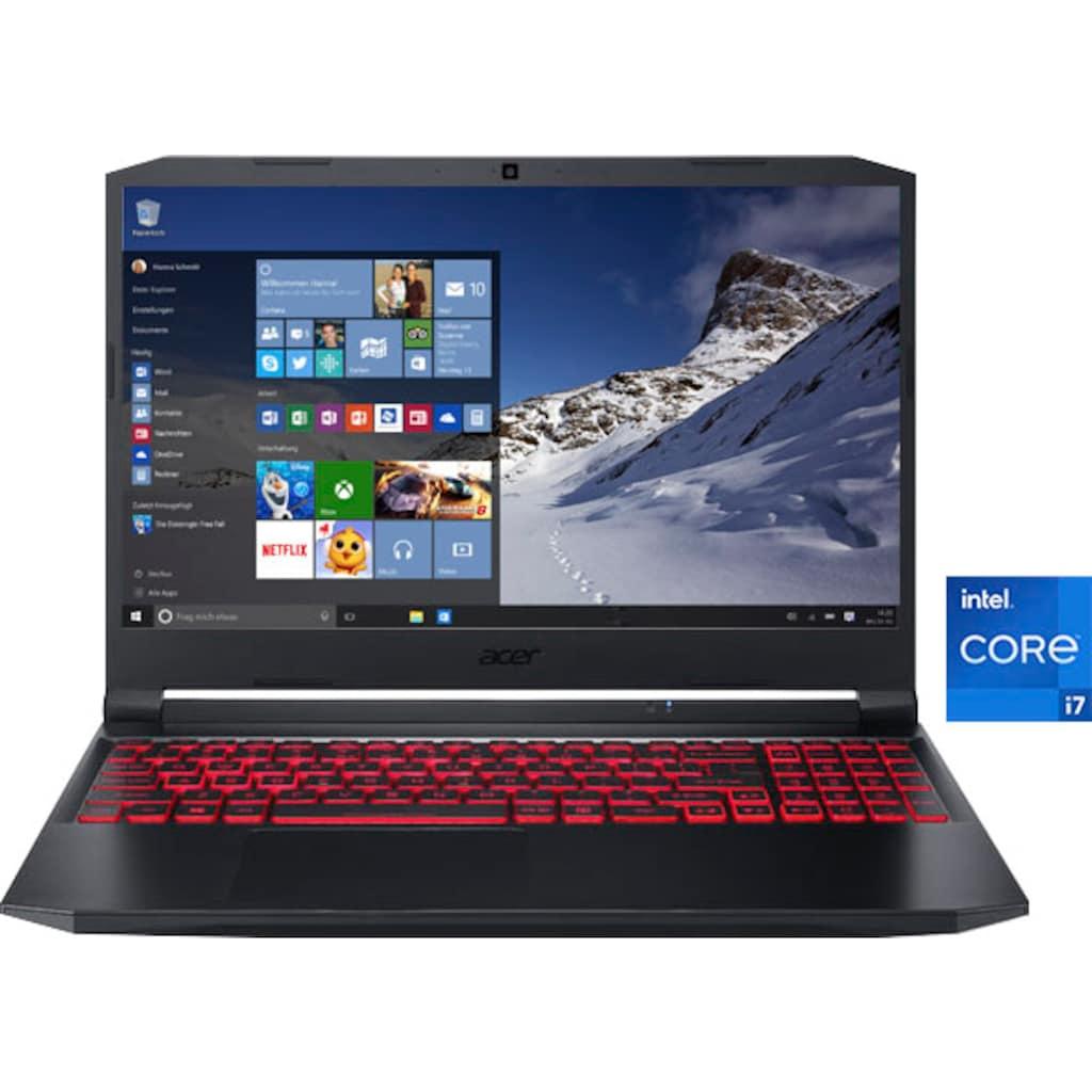 """Acer Notebook »Nitro 5 AN515-57-73EN«, (39,62 cm/15,6 """" Intel Core i7 GeForce RTX™ 3050\r\n 512 GB SSD), Kostenloses Upgrade auf Windows 11, sobald verfügbar"""