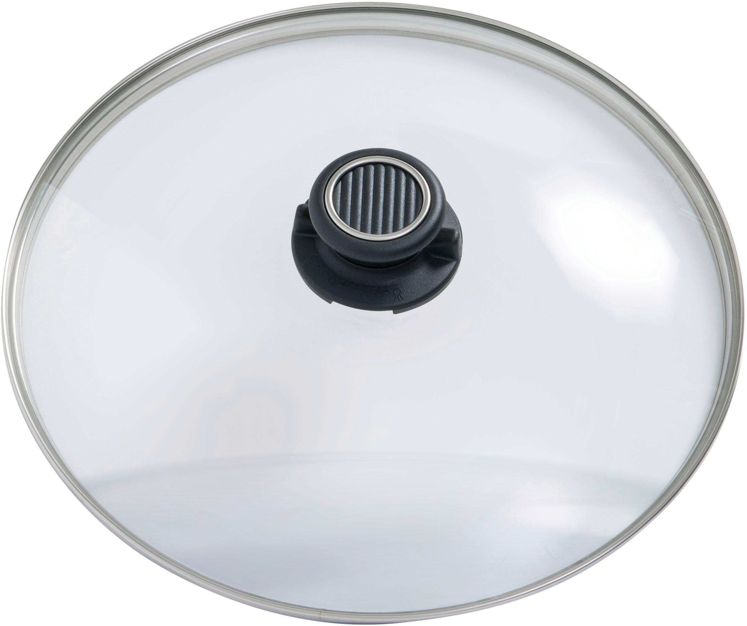 Gastrolux Deckel Deluxe farblos Zubehör für Töpfe Haushaltswaren
