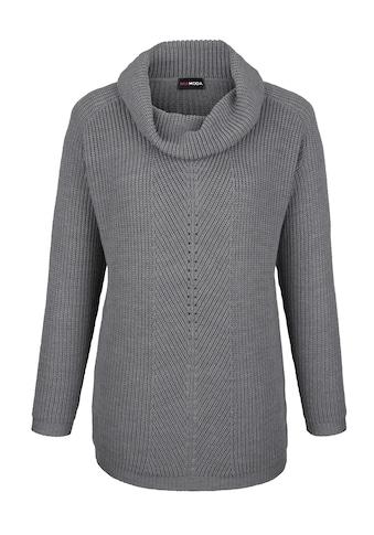 MIAMODA Pullover in Rippenstrick kaufen