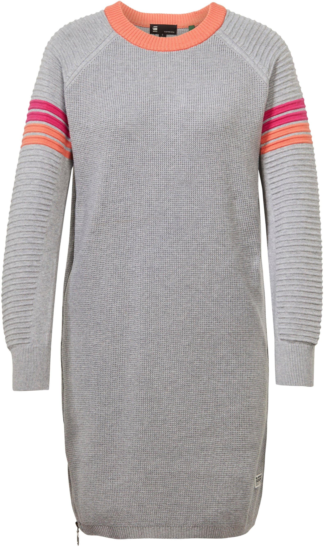 g-star raw -  Strickkleid Suzaki stripe r knit dress
