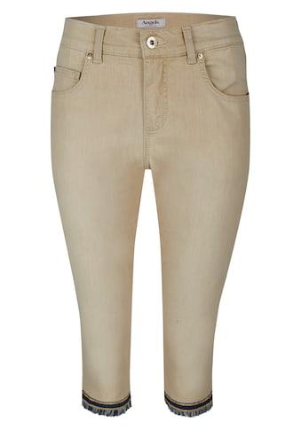 ANGELS Jeans ,Capri - Fringe' mit gefranstem Beinsaum kaufen