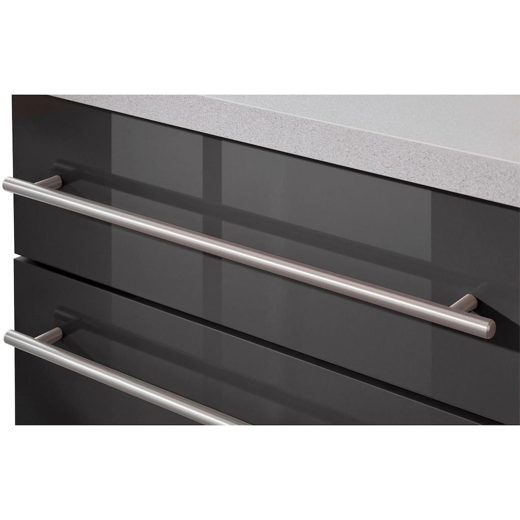 wiho Küchen Küchenzeile »Chicago«, ohne E-Geräte, Breite 220 cm