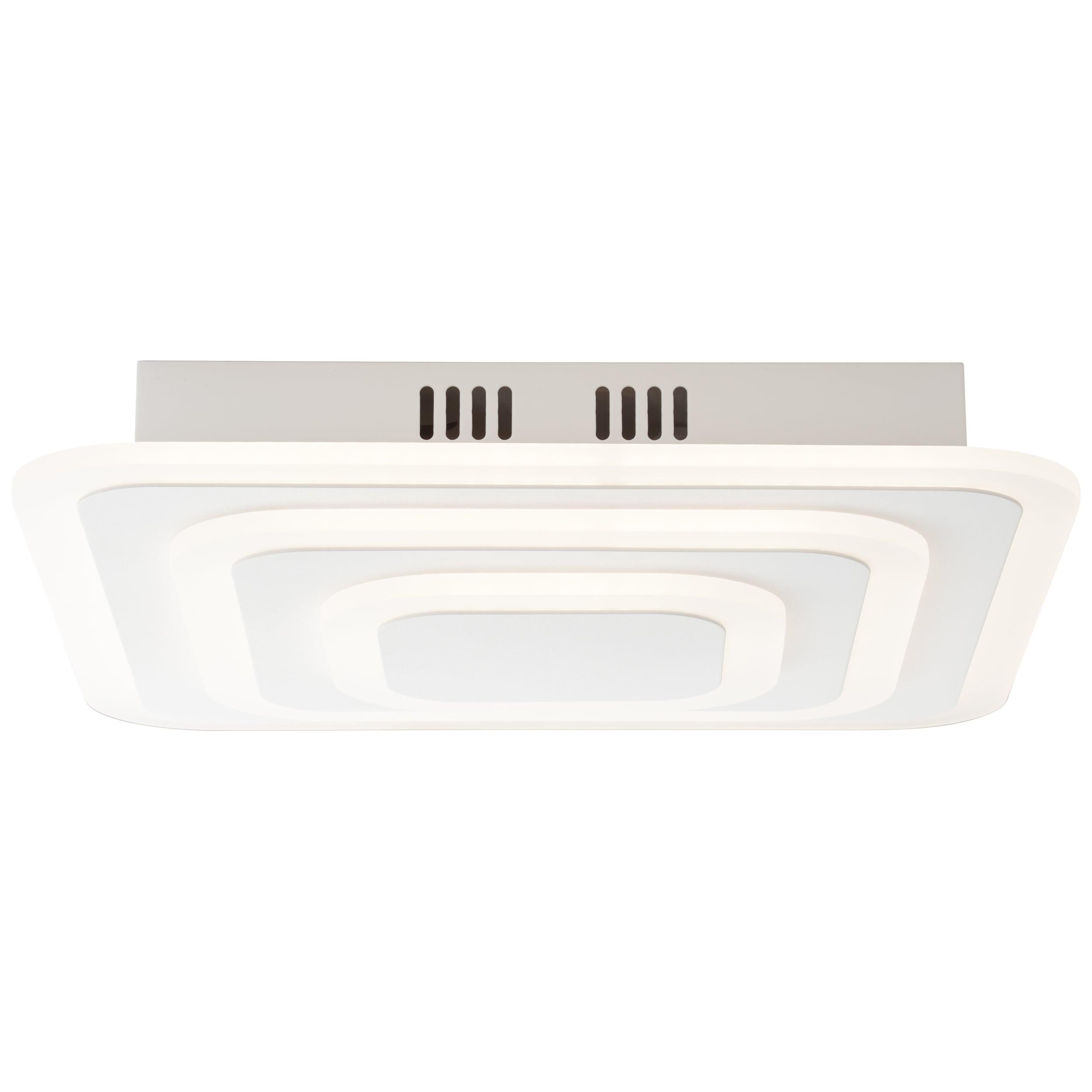 AEG Caresa LED Deckenleuchte 37x37cm sand/weiß