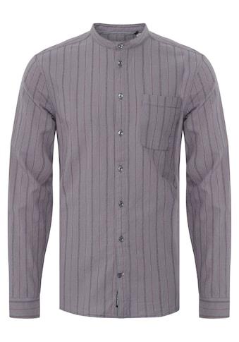 Blend Langarmhemd »Blend Herrenhemd mit kleinem Stehkragen«, Herren Freizeithemd kaufen