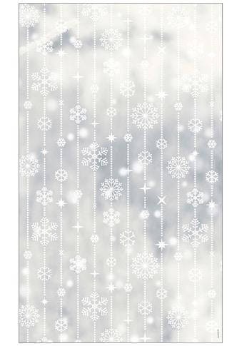 MySpotti Fensterfolie »Look Schneeflocken white«, halbtransparent, glattstatisch... kaufen