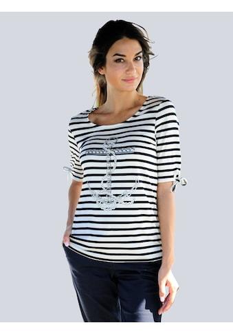 Alba Moda Strandshirt, mit Ankerdruck kaufen
