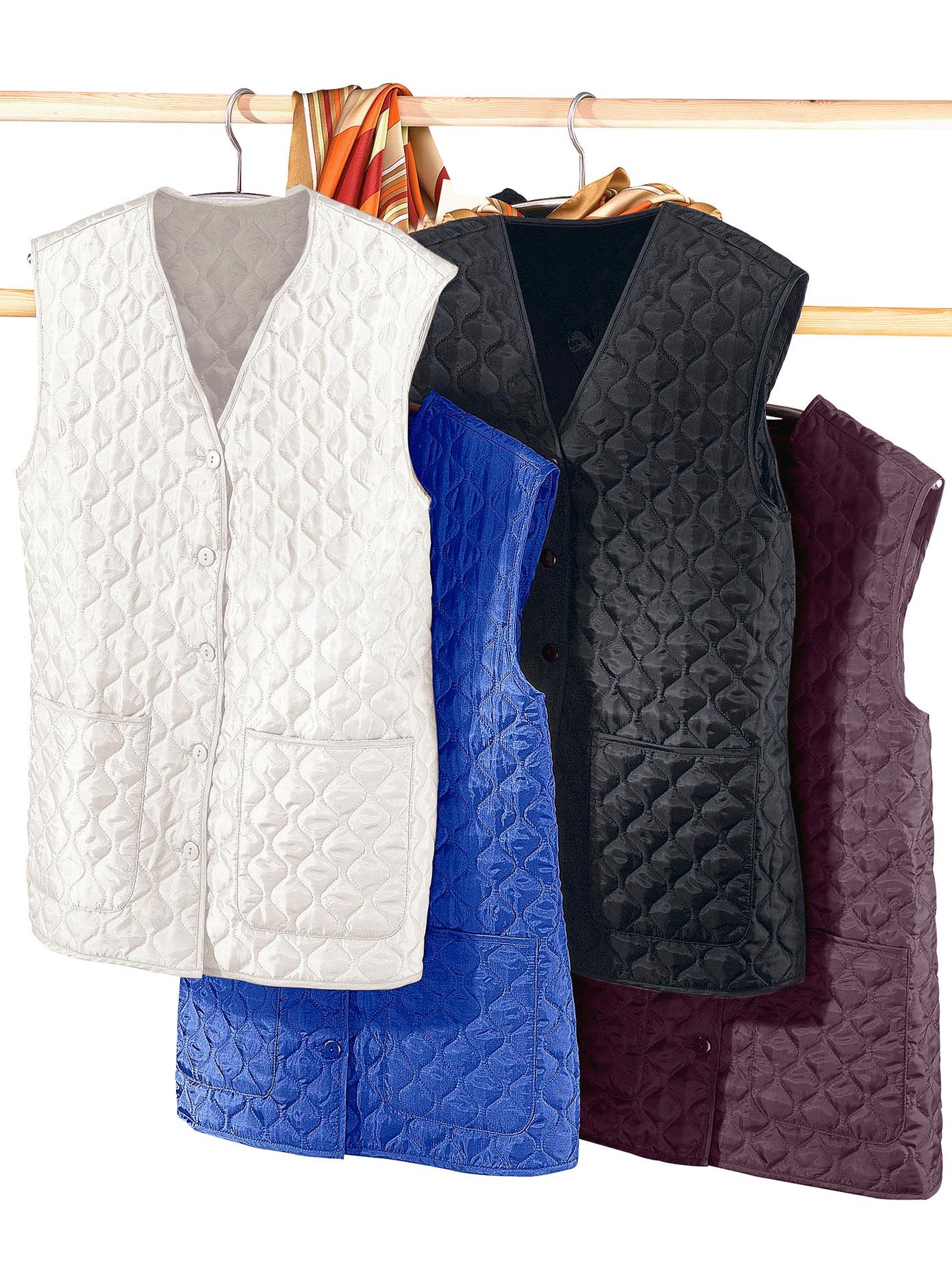 Classic Basics Steppweste mit farblich abgestimmten Knöpfen   Bekleidung > Westen > Daunenwesten & Steppwesten   Classic Basics